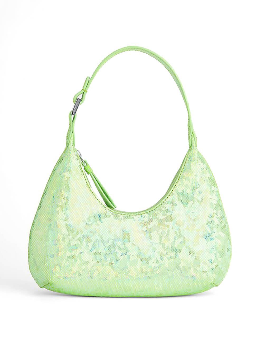 Baby Amber Hologram Shoulder Bag Item # 21PFBAS