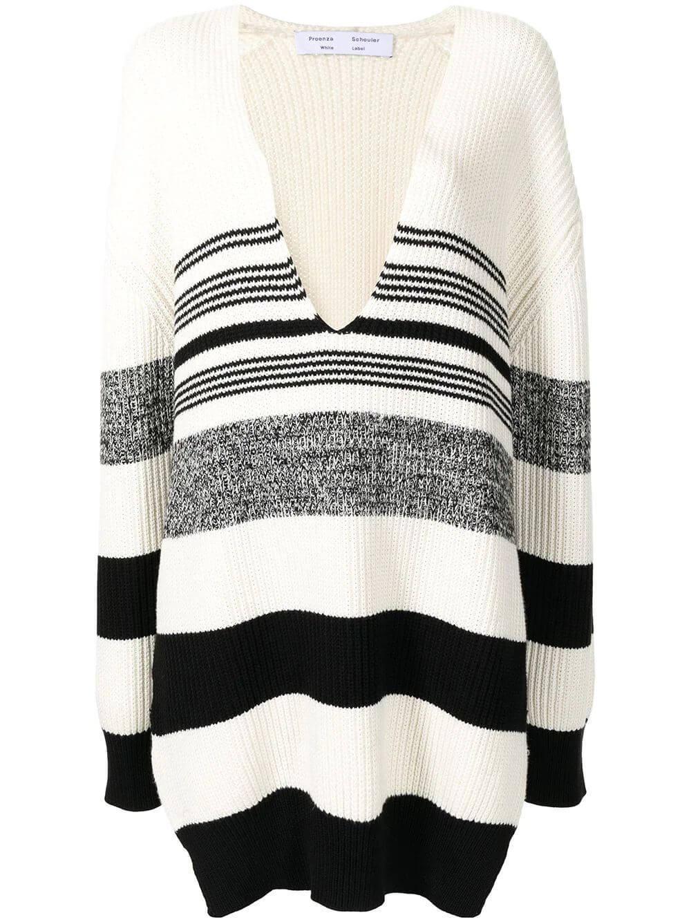 Lofty Stripe Oversized Sweater Item # WL2137647