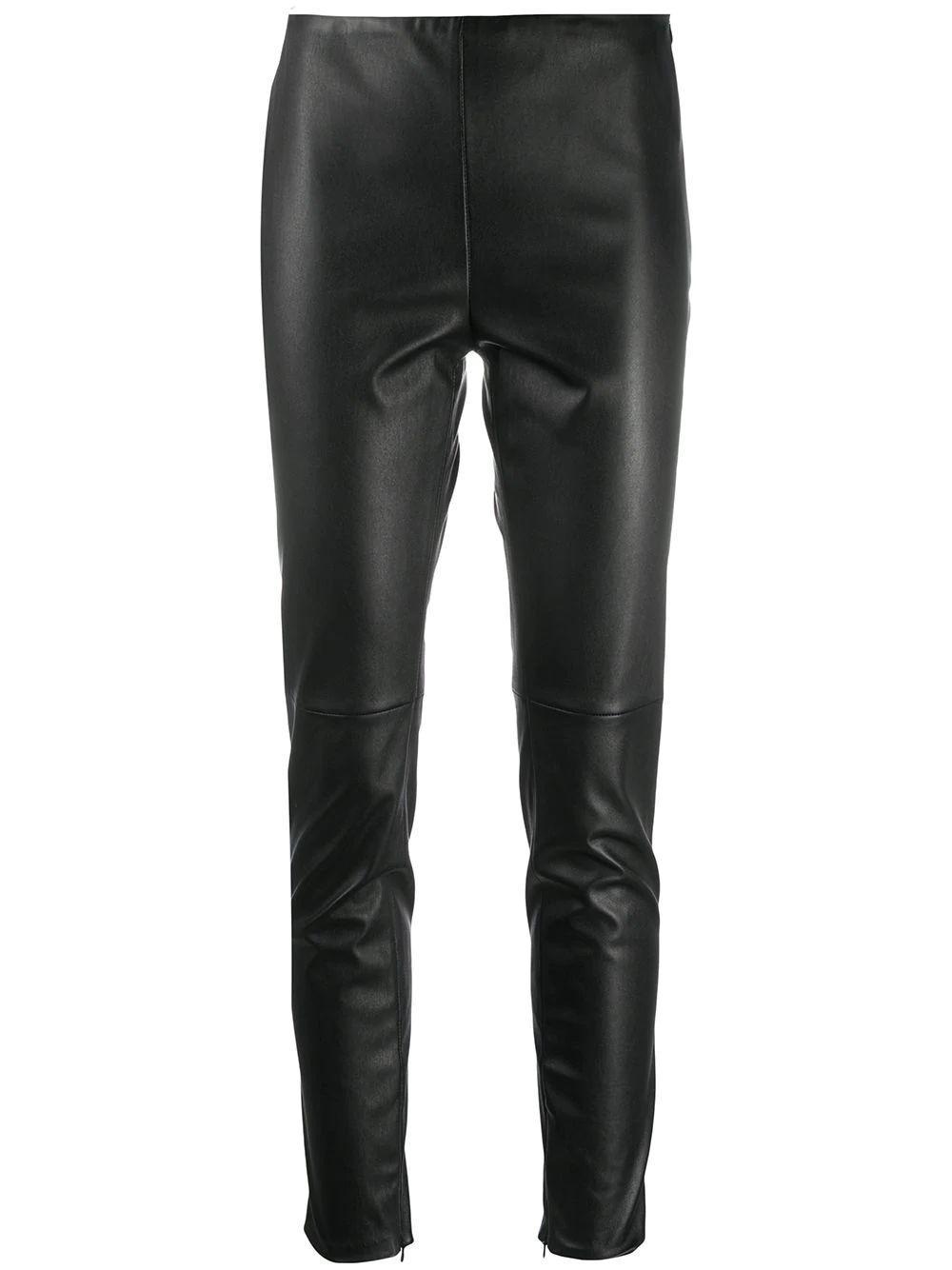 Eleanora Stretch Leather Legging