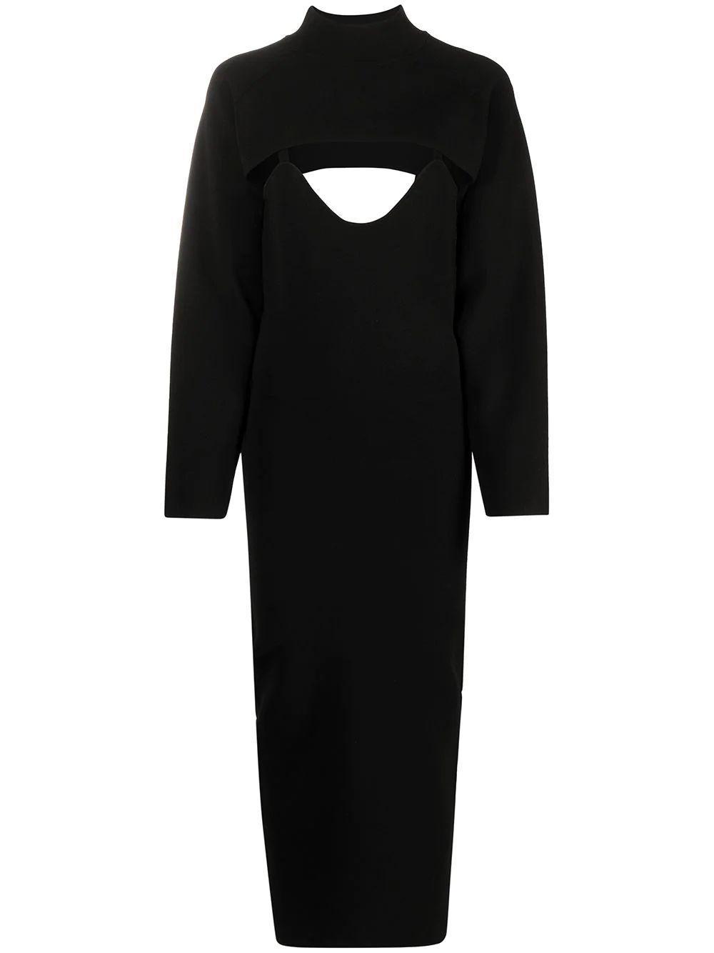 Noa Cutout Knit Dress Item # NW21PFDR01299