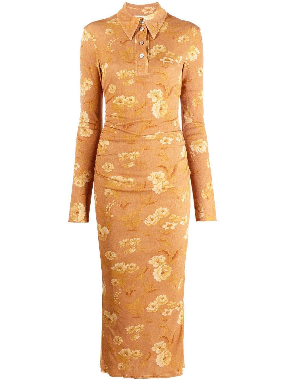 Verity Printed Midi Dress Item # NW21PFDR02175