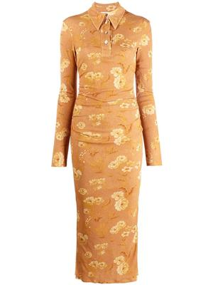 Verity Printed Midi Dress