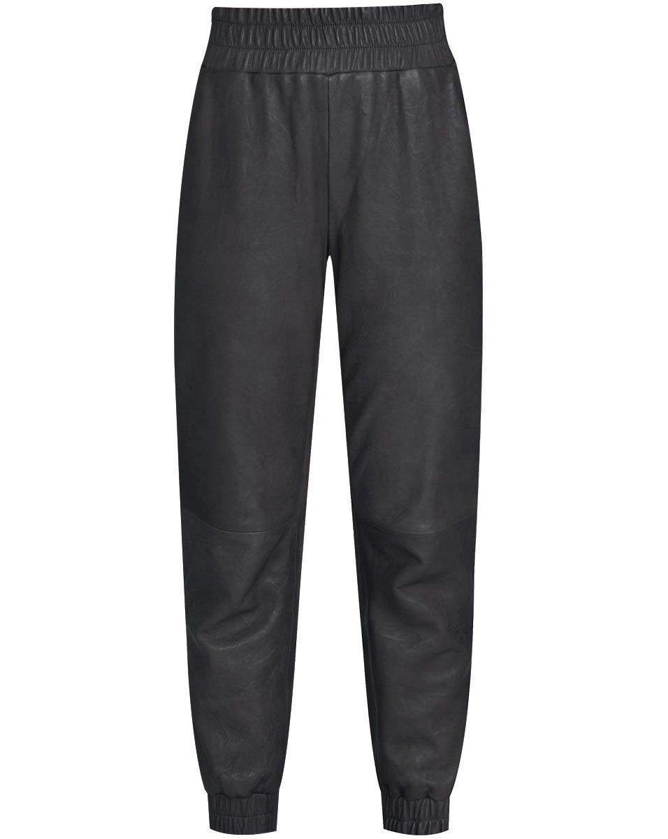 Wasia Leather Jogger