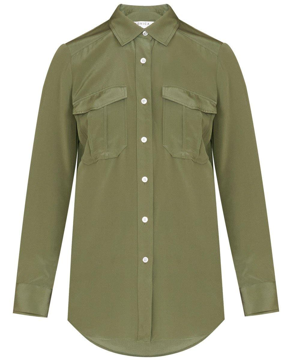 Idress Silk Shirt Item # 2107CD0240019