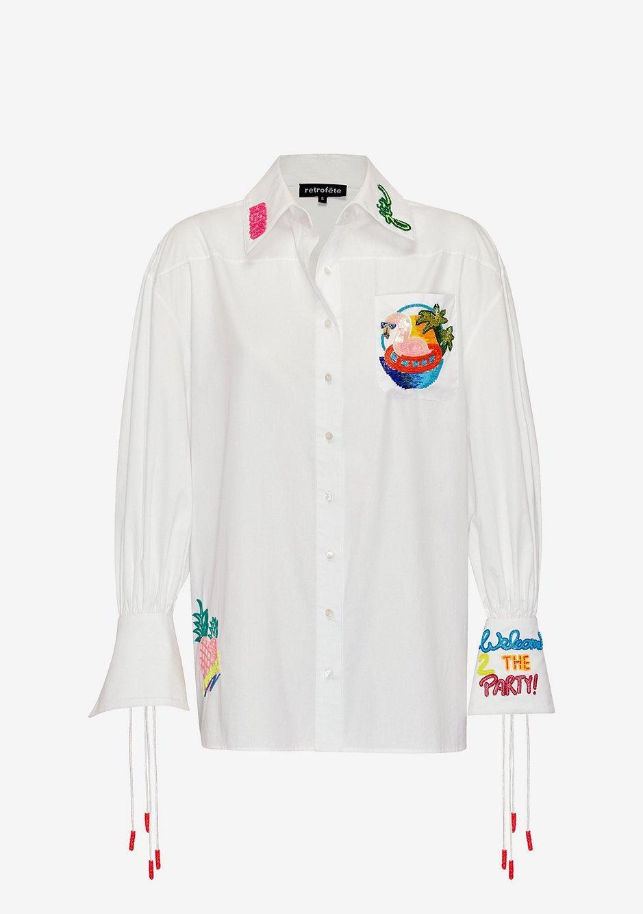 Ivana Embroidered Shirt