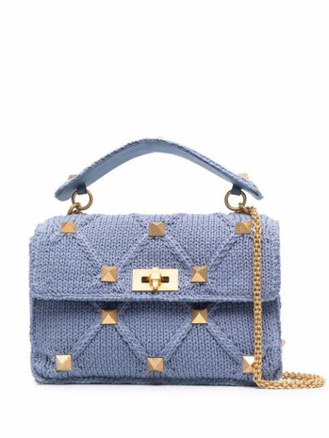 Rockstud Small Shoulder Bag Item # WW2B0I60ZDA