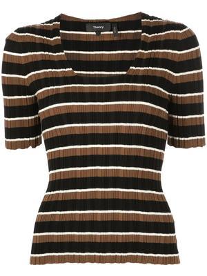 Multi Stripe Knit Top