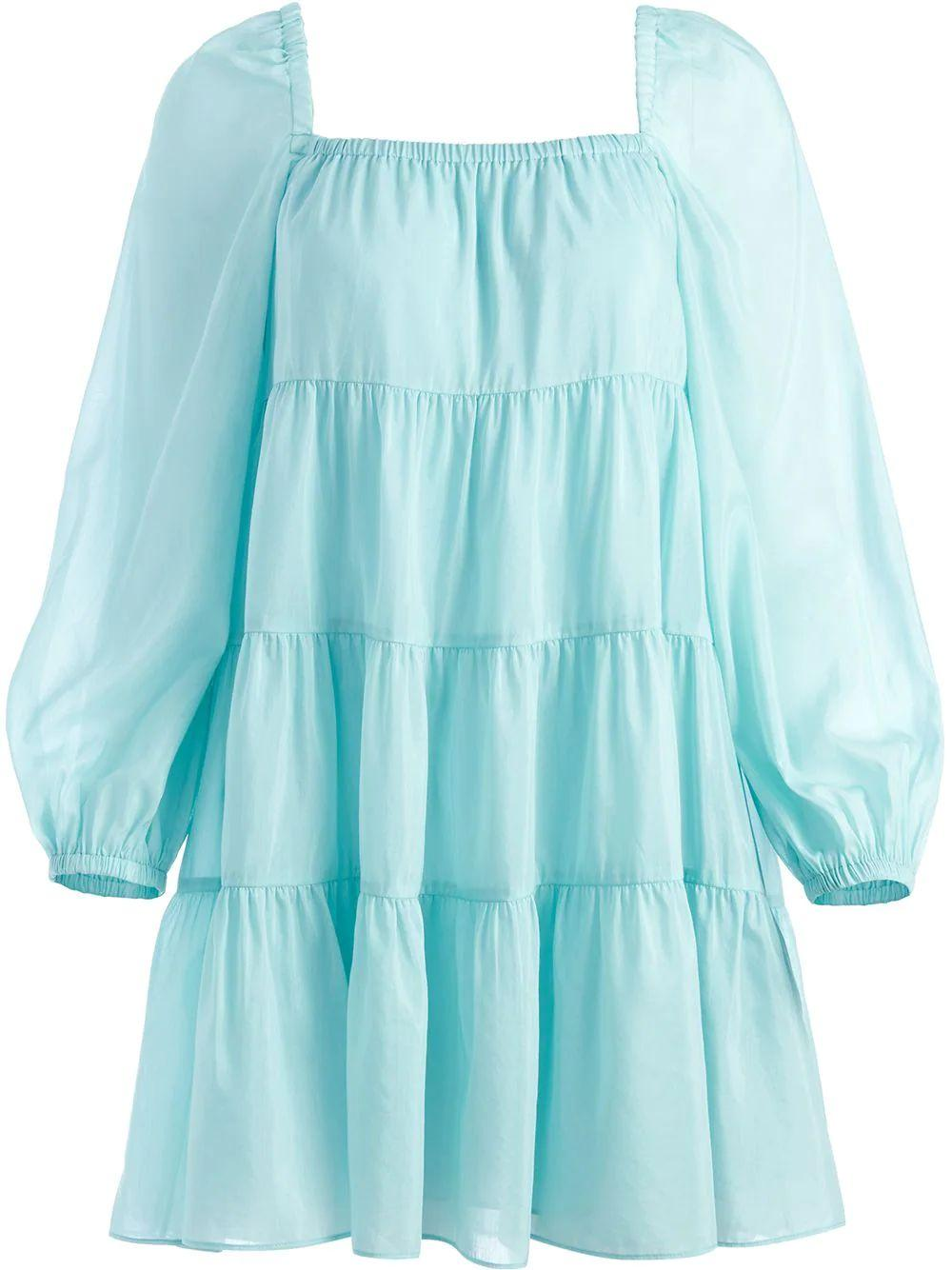 Rowen Tiered Tunic Dress Item # CC107042533