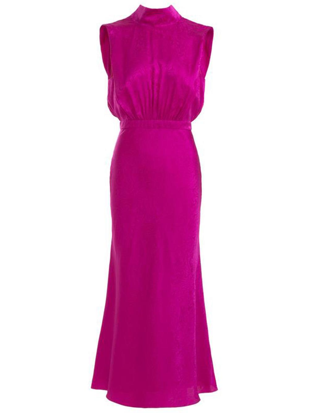 Fleur Midi Dress Item # 10255-PF21