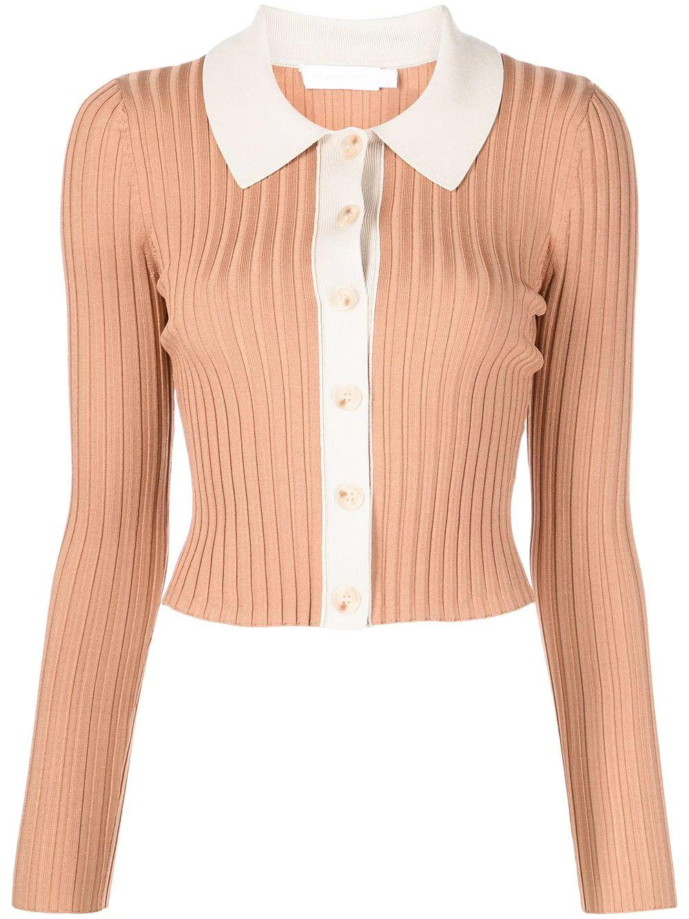 Elsie Compact Polo Cardigan