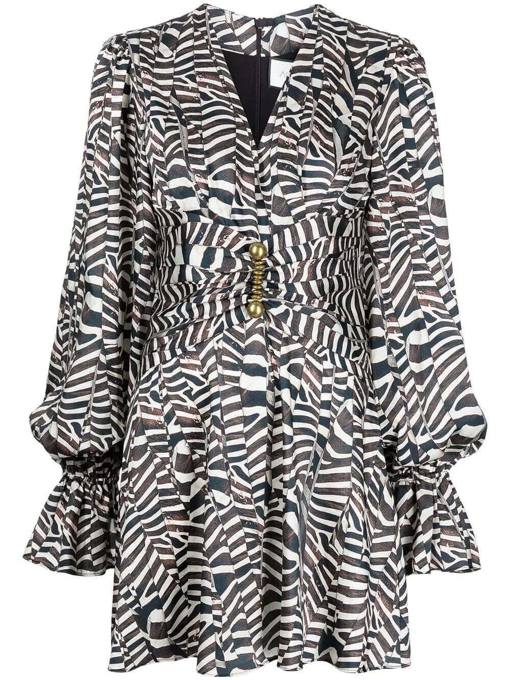Imani Zebra Dress