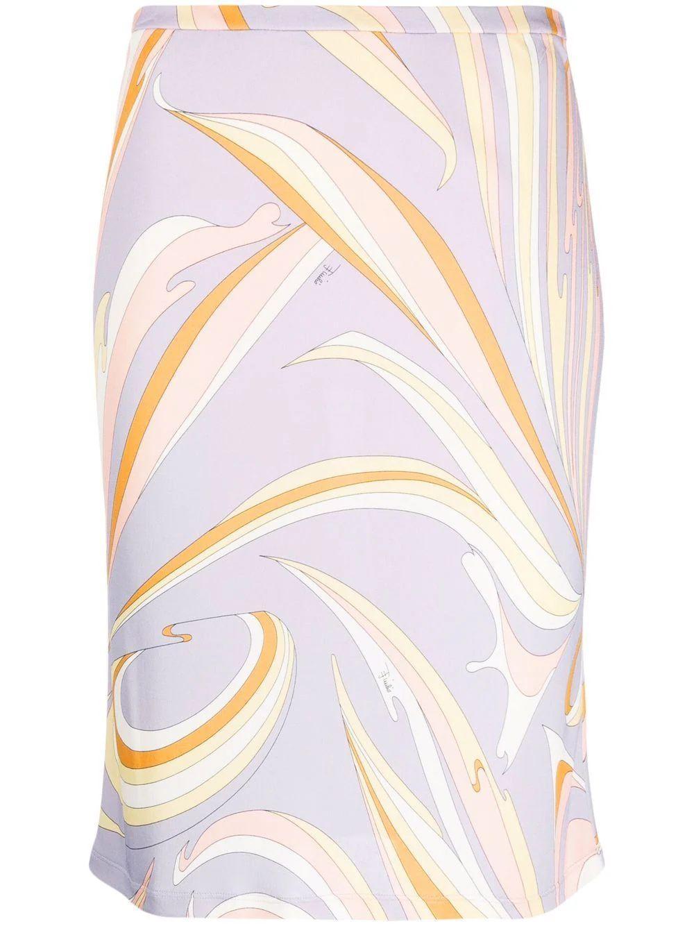 Printed Skirt Item # 1RJV66-1R747