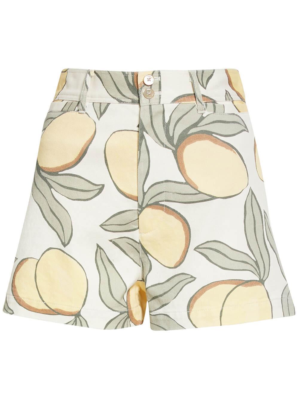 Lemon Tree Printed Shorts Item # 421923P102