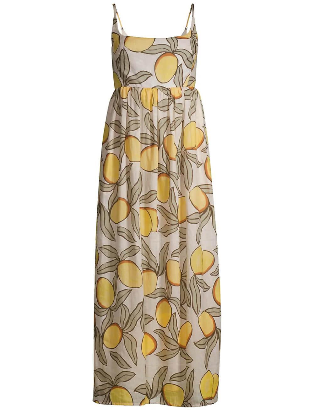 Lemon Tree Puff Waist Dress Item # 521936D860