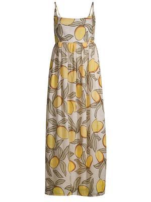 Lemon Tree Puff Waist Dress