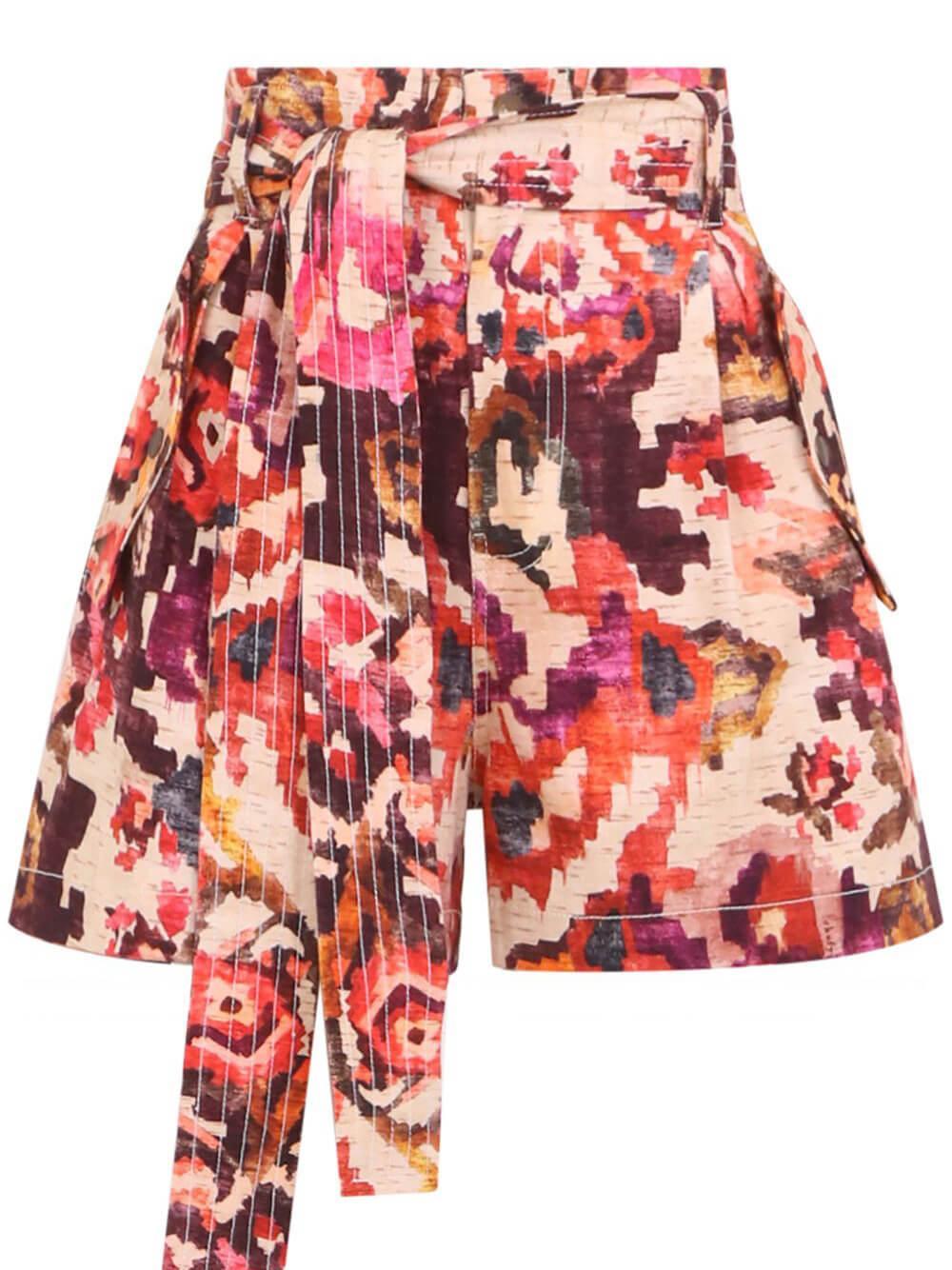 Dol Printed Shorts