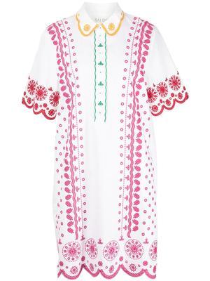 Dree-B Embroidered Dress