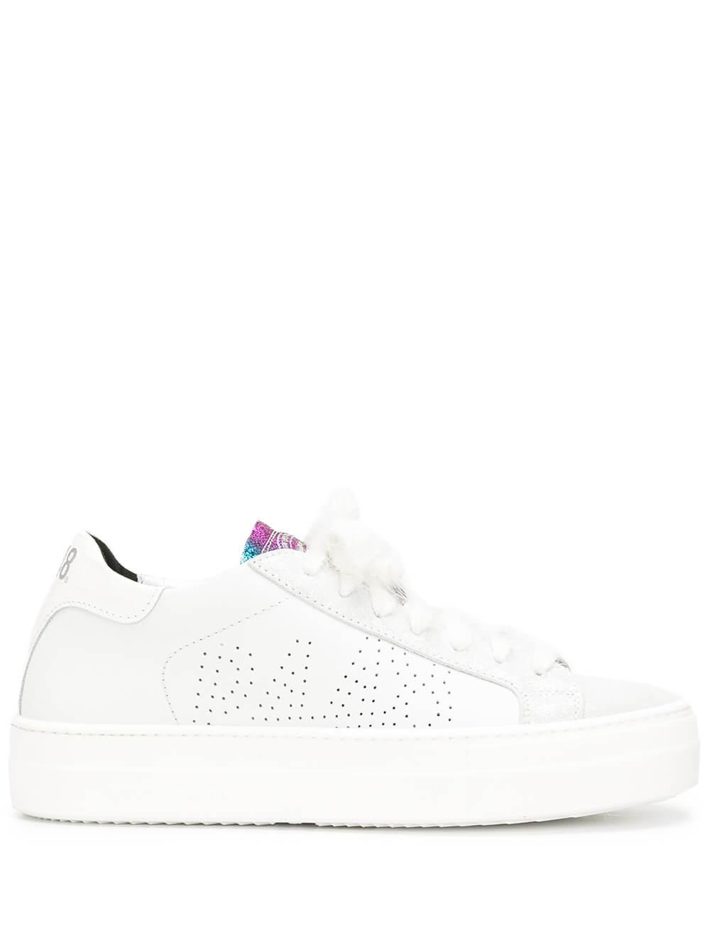 Thea Rainbow Trim Sneaker