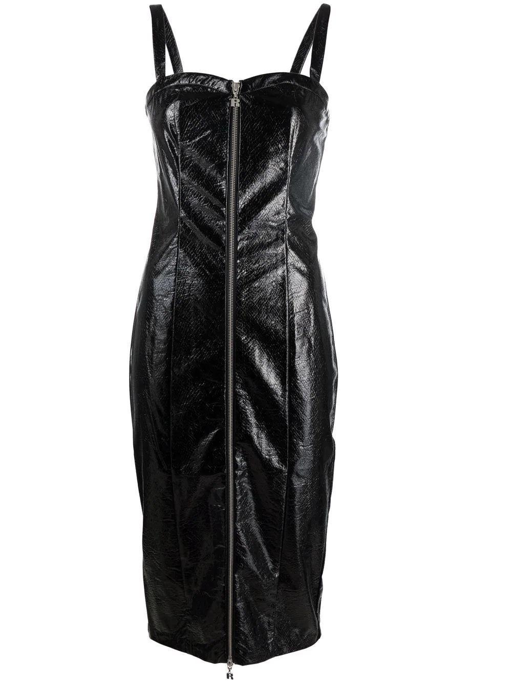 Kayla Zip Front Dress Item # RT414