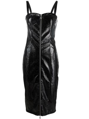 Kayla Zip Front Dress