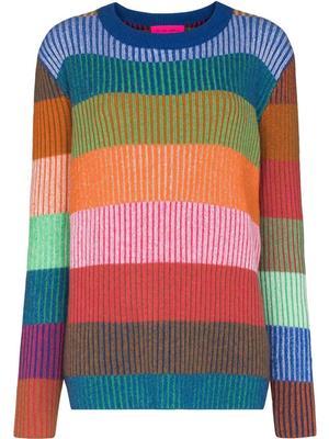 Yatzy Striped Rib Sweater