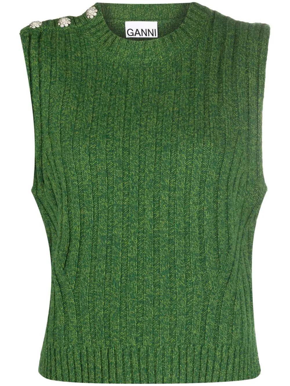 Wool Mix Sweater Vest