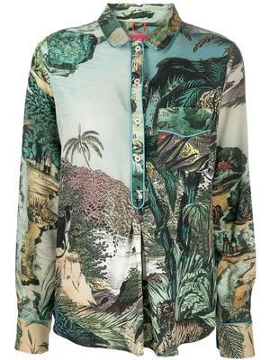 Jungle Print Blouse