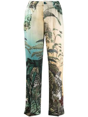 Jungle Print Pants