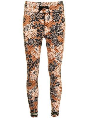 Batik Floral Leggings