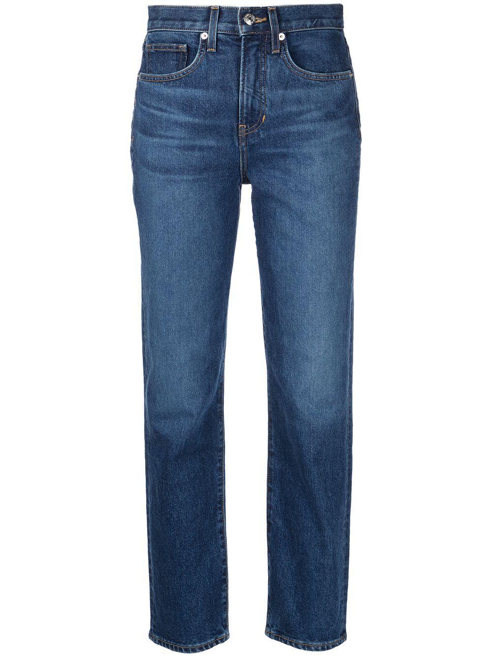 Ryleigh High Rise Slim Straight Jeans Item # J21079340642BB