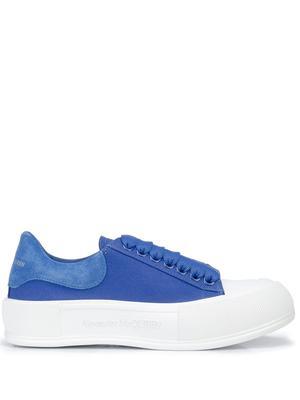 Low Top Fabric Sneaker