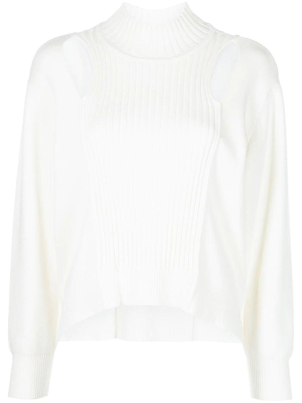 Yvette Recycled Knitwear Turtleneck Item # 421-2066-K