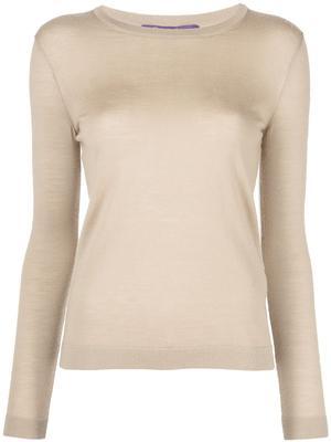Crewneck Cashmere Blend Sweater