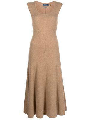 Cap Sleeve Cashmere Day Dress