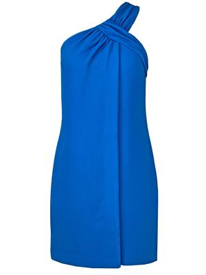 Plumeria One Shoulder Dress