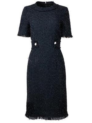 Shimmer Bouclé Dress