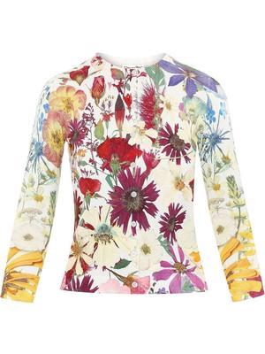 Pressed Flower Cardigan