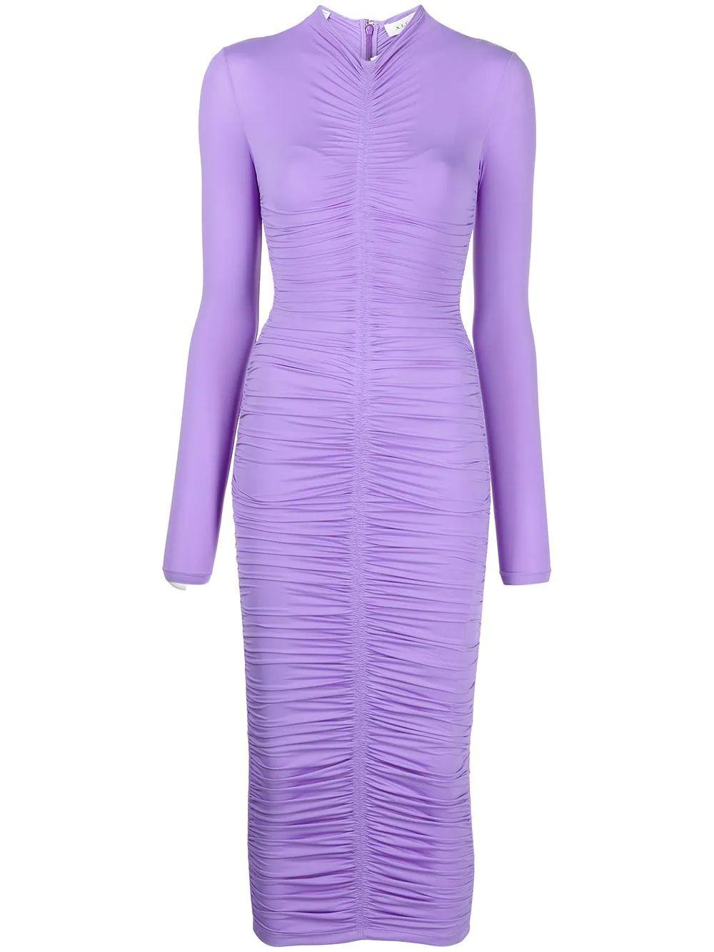 Ansel Ruched Knit Dress