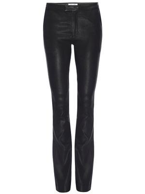 Le Serge Leather Trouser