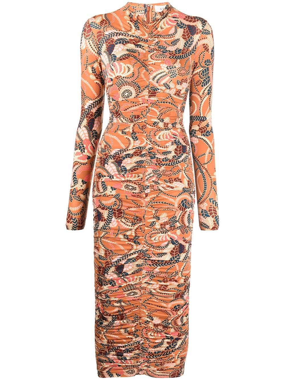 Ansel Printed Midi Dress