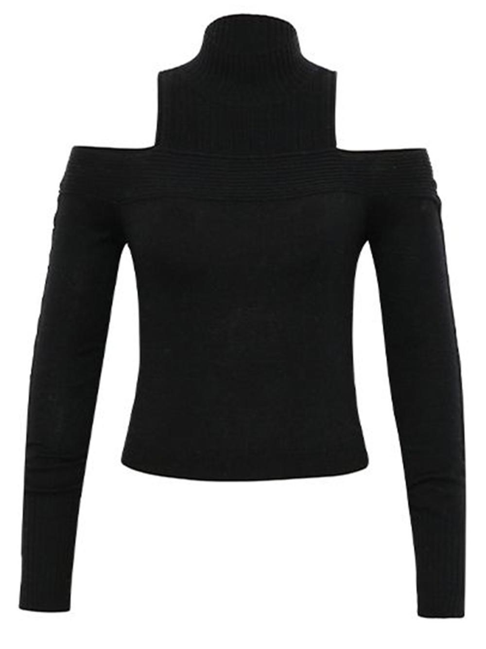 Gillian Loungewear Off Shoulder Knit Top