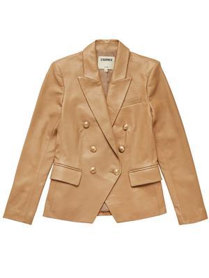 Kenzie Leather Blazer
