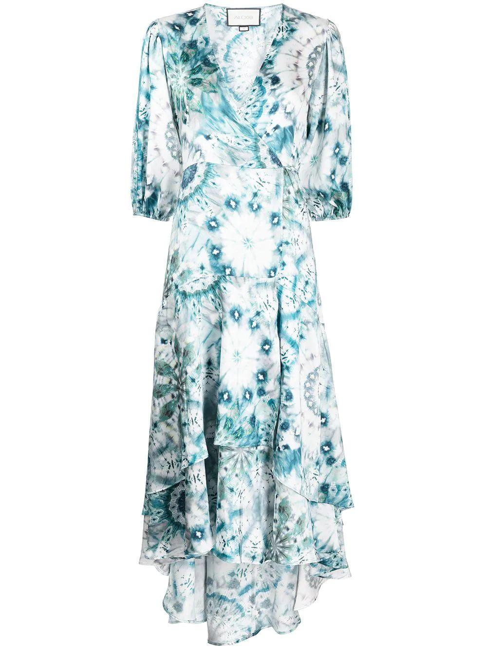 Rozella Kaleidoscope Midi Dress