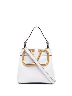 VLogo Top Handle Bag