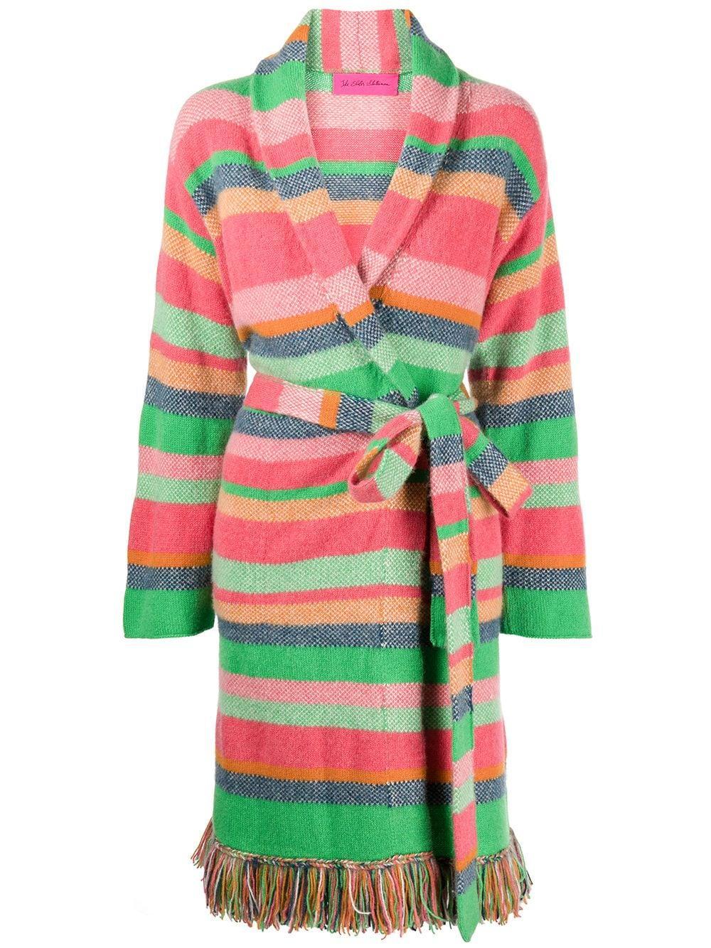 Pace Stripe Fringe Coat Item # 210311