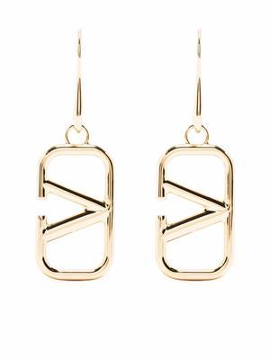 VLogo Pendant Earrings