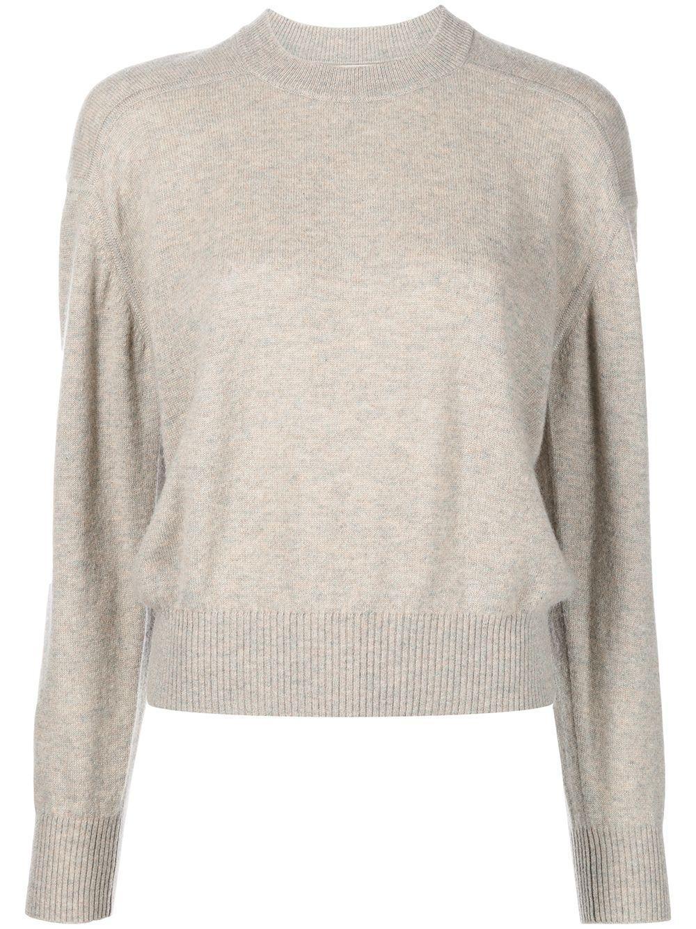 Cashmere Crew Neck Sweater Item # ARUTA