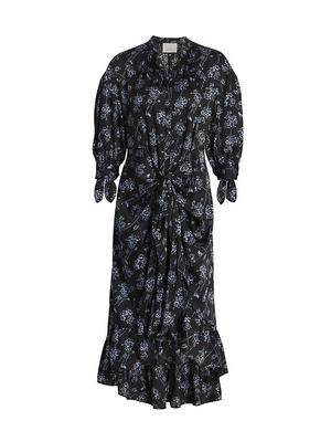 Halette Midi Dress