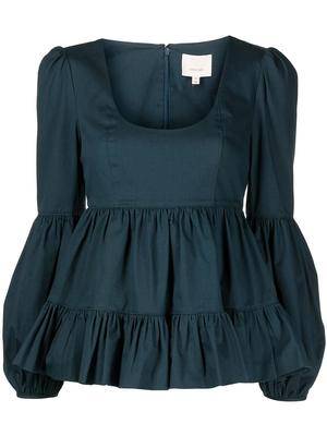Rose Tiered Top