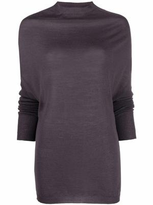 Crater Knit Cashmere Top